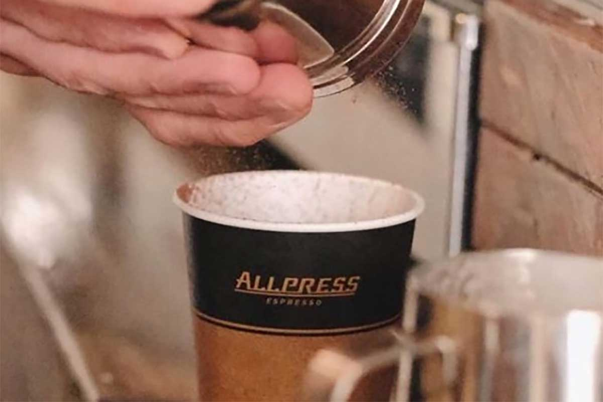 GNTP, Love is in the air and it smells like Allpress Coffee